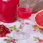 Domáci aperol - ríbezľovo-grepový likér