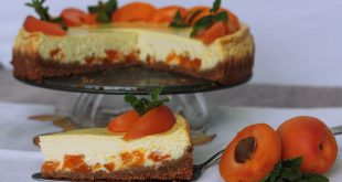bazovy cheesecake s marhulami