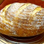 Zemiakový chlebík - balónik (kváskový)
