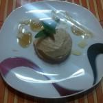 Gaštanový zmrzlinový sorbet
