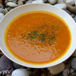 Hokkaido-cviklová polievka