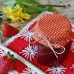 Jahodový a marhuľový džem