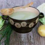 Jarná kapustová polievka