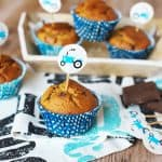Karamelové muffinky z ovsených vločiek