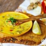 Kokosová kari polievka