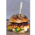 Kurací burger s domácou majonézou