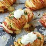 Plnené zapečené zemiaky