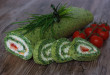 Špenátová roláda s domácou lučinou