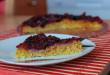 Varený slivkový koláč